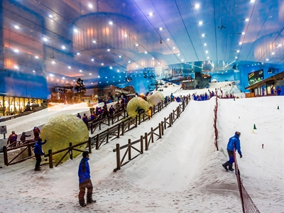 Ski Dubai, Mall of Emirates - Dubai